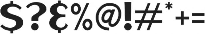 Haarlem Sans otf (400) Font OTHER CHARS