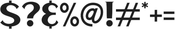 Haarlem Serif otf (400) Font OTHER CHARS