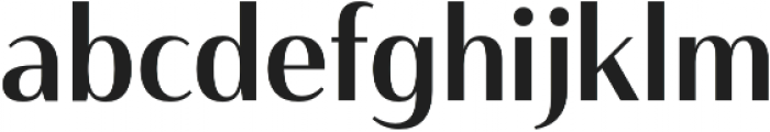 Haboro Contrast Cond Medium otf (500) Font LOWERCASE