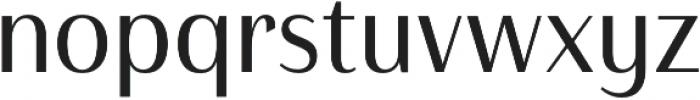 Haboro Contrast Cond Regular otf (400) Font LOWERCASE