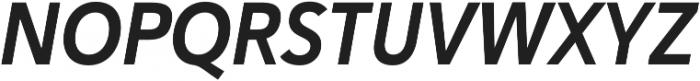 Haboro Sans Cond Bold Italic otf (700) Font UPPERCASE
