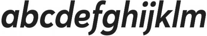 Haboro Sans Cond Bold Italic otf (700) Font LOWERCASE