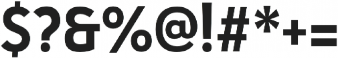 Haboro Sans Cond Bold otf (700) Font OTHER CHARS