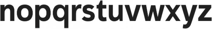 Haboro Sans Cond Bold otf (700) Font LOWERCASE