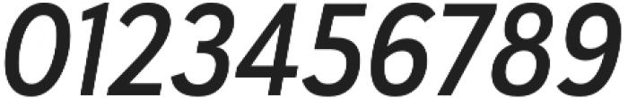 Haboro Sans Cond Demi Italic otf (400) Font OTHER CHARS