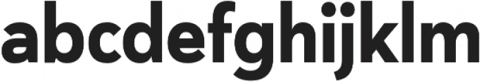 Haboro Sans Cond ExBold otf (700) Font LOWERCASE