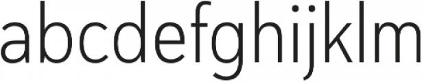 Haboro Sans Cond Light otf (300) Font LOWERCASE