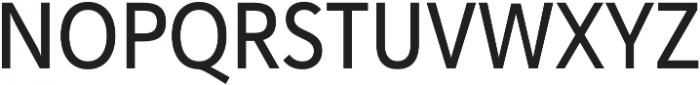 Haboro Sans Cond Medium otf (500) Font UPPERCASE