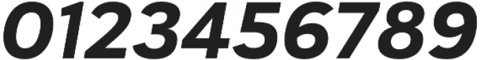 Haboro Sans Ext ExBold Italic otf (700) Font OTHER CHARS