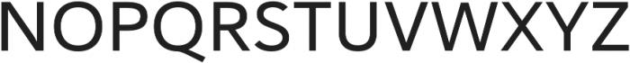 Haboro Sans Ext Medium otf (500) Font UPPERCASE