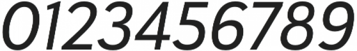 Haboro Sans Norm Medium Italic otf (500) Font OTHER CHARS