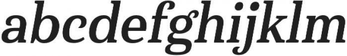 Haboro Serif Cond Bold It otf (700) Font LOWERCASE