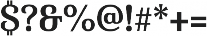 Haboro Serif Cond Bold otf (700) Font OTHER CHARS