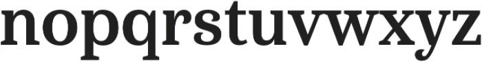 Haboro Serif Cond Bold otf (700) Font LOWERCASE