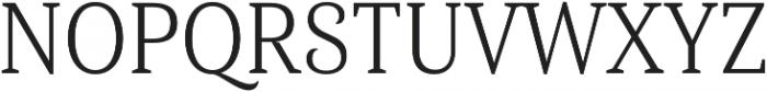 Haboro Serif Cond Book otf (400) Font UPPERCASE