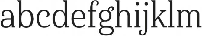Haboro Serif Cond Book otf (400) Font LOWERCASE
