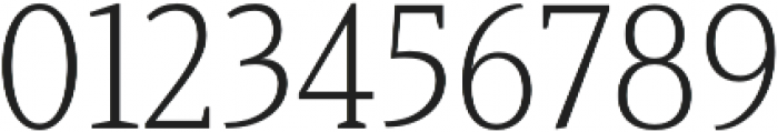 Haboro Serif Cond Light otf (300) Font OTHER CHARS