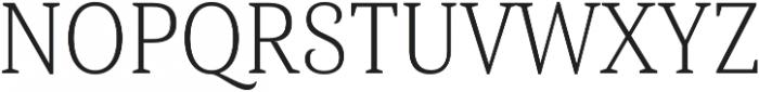 Haboro Serif Cond Light otf (300) Font UPPERCASE