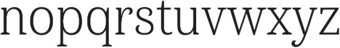 Haboro Serif Cond Light otf (300) Font LOWERCASE