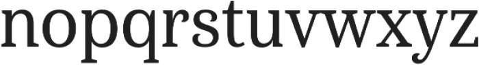 Haboro Serif Cond Medium otf (500) Font LOWERCASE