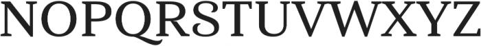 Haboro Serif Ext Demi otf (400) Font UPPERCASE