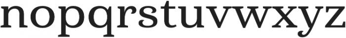 Haboro Serif Ext Demi otf (400) Font LOWERCASE
