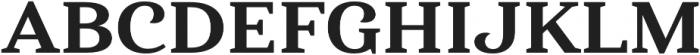 Haboro Serif Ext ExBold otf (700) Font UPPERCASE