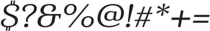 Haboro Serif Ext Medium It otf (500) Font OTHER CHARS