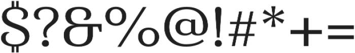 Haboro Serif Ext Medium otf (500) Font OTHER CHARS