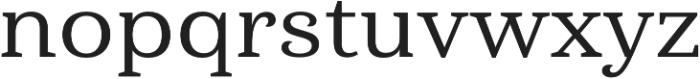 Haboro Serif Ext Medium otf (500) Font LOWERCASE