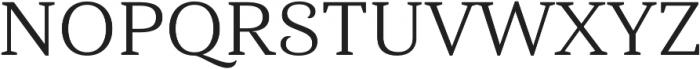 Haboro Serif Ext Regular otf (400) Font UPPERCASE
