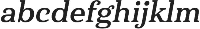 Haboro Serif Norm Bold It otf (700) Font LOWERCASE