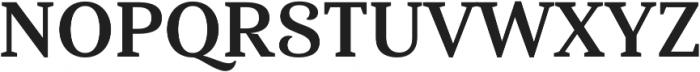 Haboro Serif Norm Bold otf (700) Font UPPERCASE