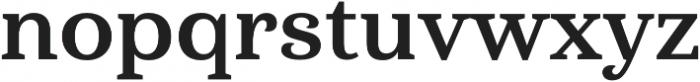 Haboro Serif Norm Bold otf (700) Font LOWERCASE