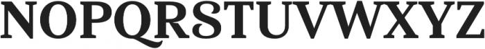 Haboro Serif Norm ExBold otf (700) Font UPPERCASE