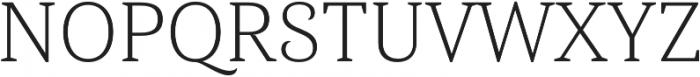 Haboro Serif Norm Light otf (300) Font UPPERCASE