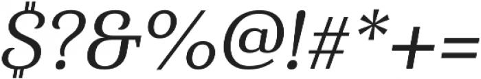 Haboro Serif Norm Medium It otf (500) Font OTHER CHARS
