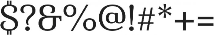 Haboro Serif Norm Medium otf (500) Font OTHER CHARS