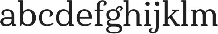 Haboro Serif Norm Medium otf (500) Font LOWERCASE
