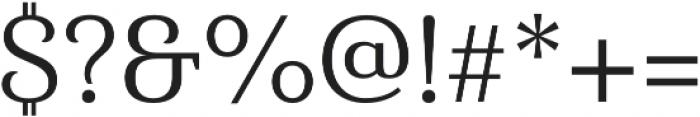 Haboro Serif Norm Regular otf (400) Font OTHER CHARS