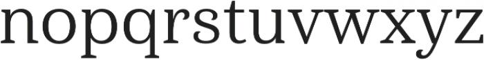 Haboro Serif Norm Regular otf (400) Font LOWERCASE