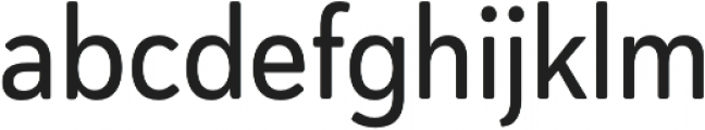 Haboro Soft Cond Medium otf (500) Font LOWERCASE