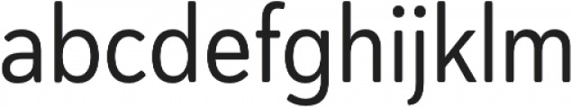 Haboro Soft Cond Regular otf (400) Font LOWERCASE