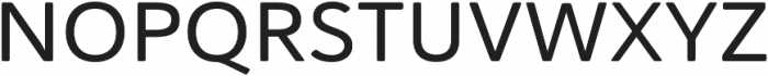 Haboro Soft Ext Medium otf (500) Font UPPERCASE