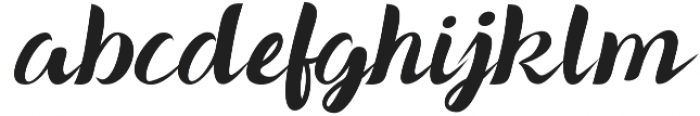 Hacep Winter otf (400) Font LOWERCASE