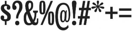 Hackensack Regular otf (400) Font OTHER CHARS
