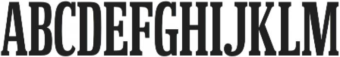 Hackensack Regular otf (400) Font UPPERCASE
