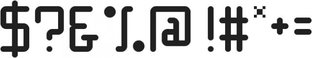 Hacker ttf (400) Font OTHER CHARS
