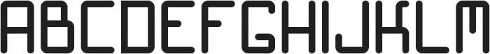 Hacker ttf (400) Font UPPERCASE
