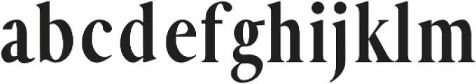 Hadeed otf (400) Font LOWERCASE
